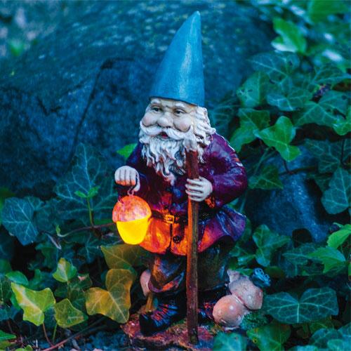 Solar Garden Gnome