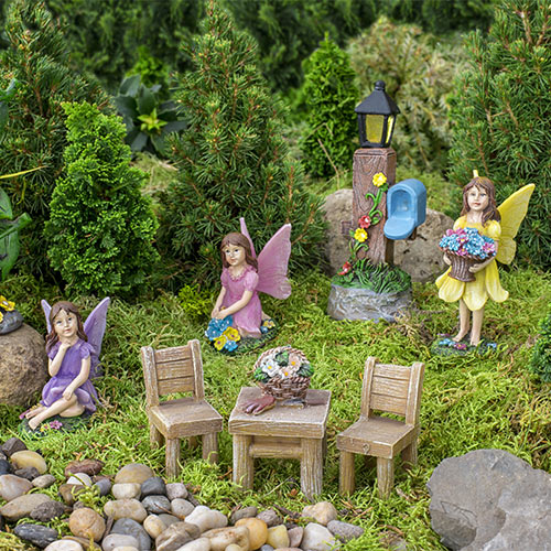 Fairy Garden - Set of 8