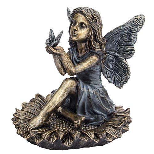 Sunflower Fairy Statuary