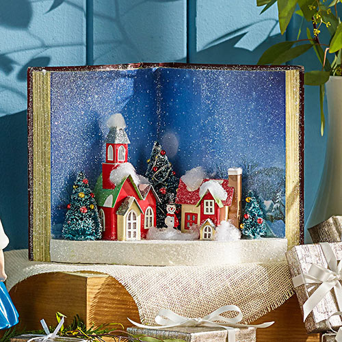 Christmas Book Accent Light