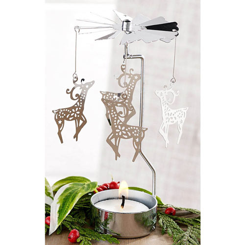 Candle Carousels (Angel/Snowflake/Reindeer)