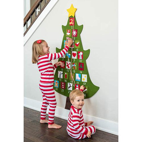 Felt Tree Advent Calendar