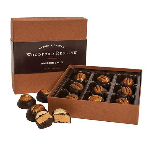 Woodford Reserve Bourbon Balls & Salted Caramels