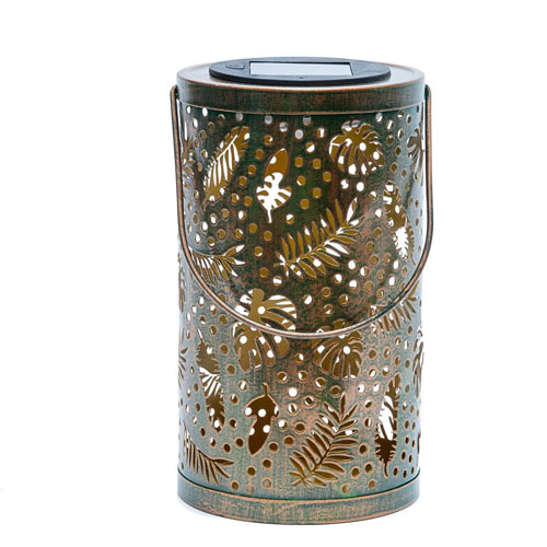 Tropical Leaves Solar Lantern