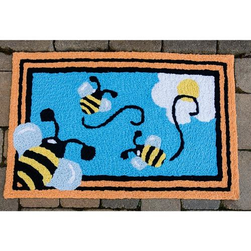 Busy Bee Indoor/Outdoor Rug
