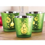 Set of 3: Holiday Votives