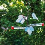 Copper Ivy Hummingbird Feeder