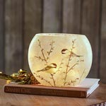 Chickadee Glass Accent Light