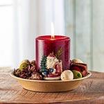 Santa Potpourri Candle Set