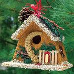 Birdseed Winter Chalet