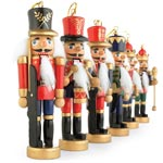 Set of 6: Nutcracker Ornaments