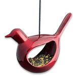 Hanging Ruby Bird Feeder