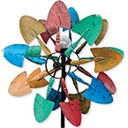 Colorful Shovels Solar Wind Spinner