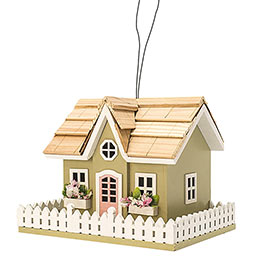 Spring Cottage Birdhouse