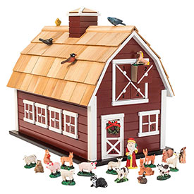 Heirloom Christmas Barn Advent Calendar