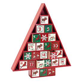 Classic Woodland Advent Calendar