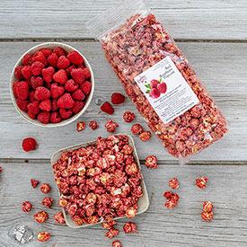 Red Raspberry Popcorn