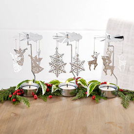 Candle Carousels (Angel/ Snowflake/ Reindeer)  - Angel Candle Carousel