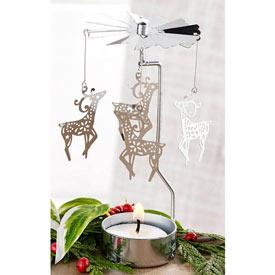 Candle Carousels (Angel/ Snowflake/ Reindeer)
