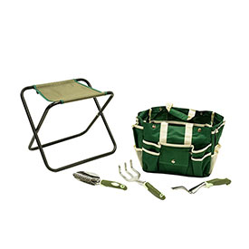 Essential Garden Seat with Tools