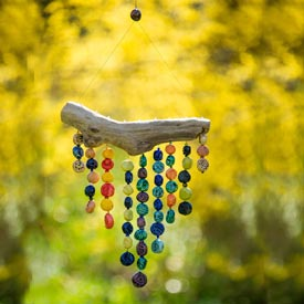 Hanging Bead Sculpture