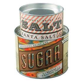 Santa Salt & Mexican Chocolate Sugar Combo
