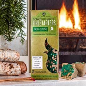 Fragrant Pine Firestarters