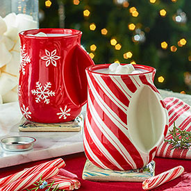 Cozy Hand Mugs and Hot Cocoa Mixes