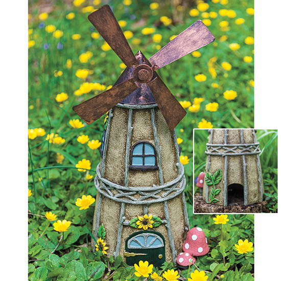 Windmill Toad House