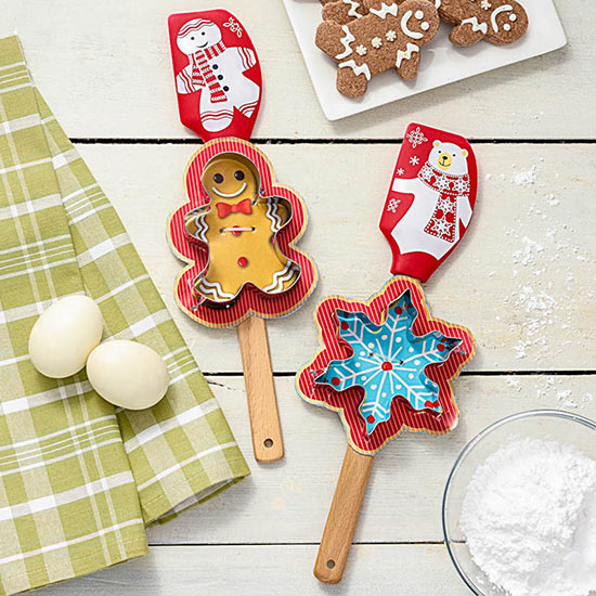 Cookie Cutter and Spatula Gift Set
