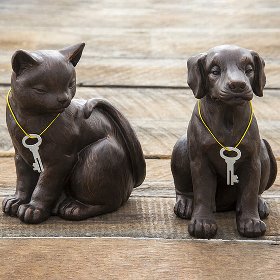 Dog and Cat Memorial Urns