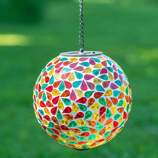 8″ Solar Mosaic Orb