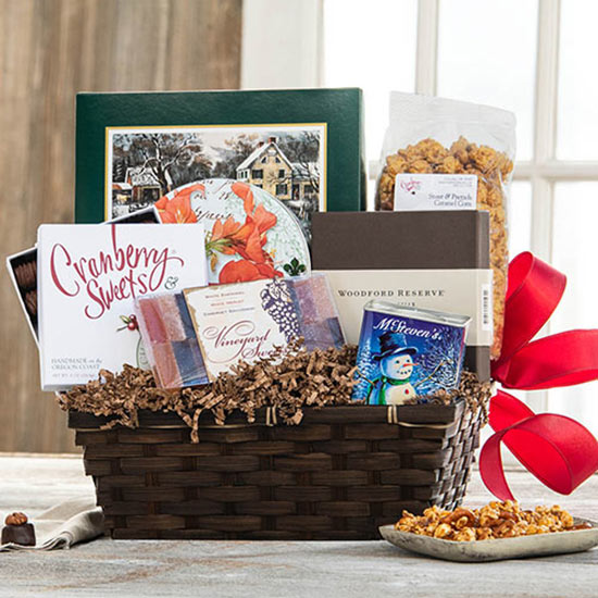 Making Spirits Bright Gift Basket