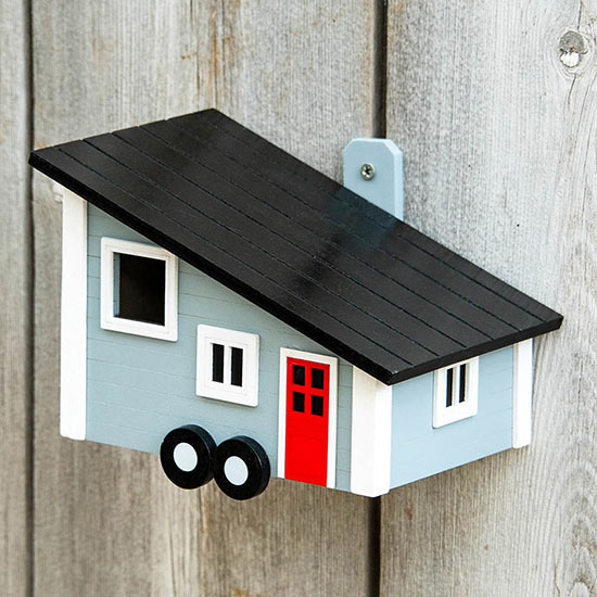 Tiny House Birdhouse