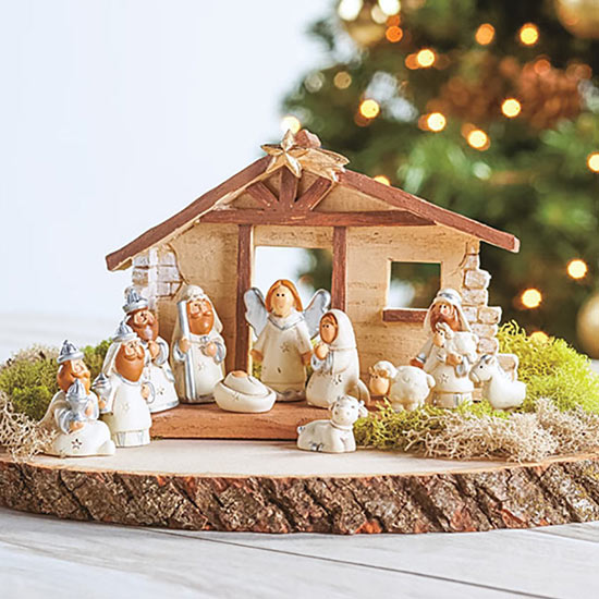 Tiny Nativity Set