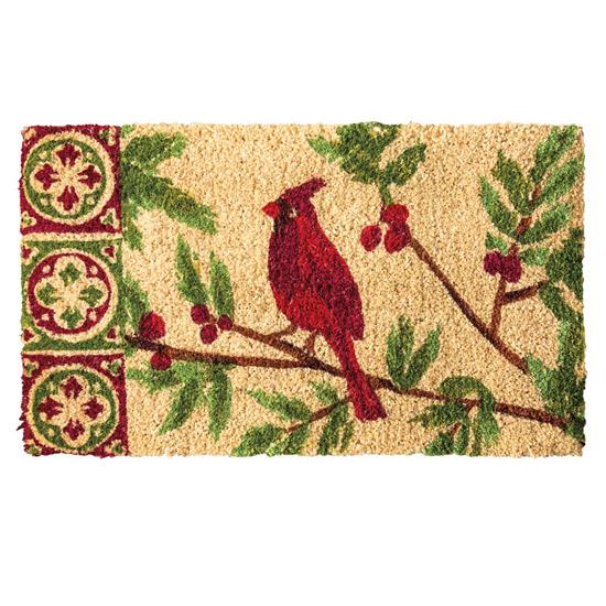 Cardinal Doormat