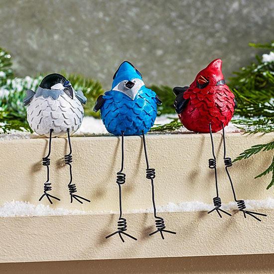 Tweeting Bird Trio