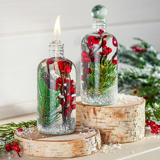 Lifetime Winter Berry Oil Lamp