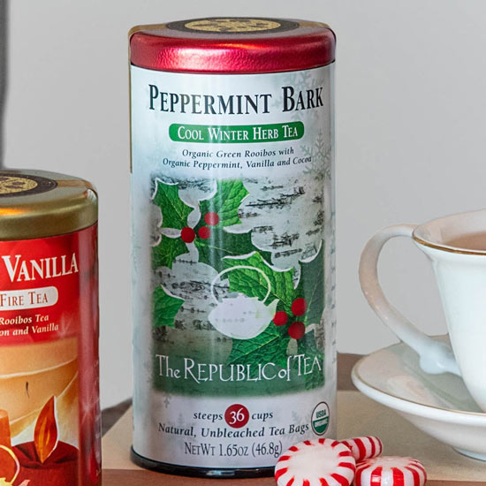 Peppermint Bark Herbal Tea