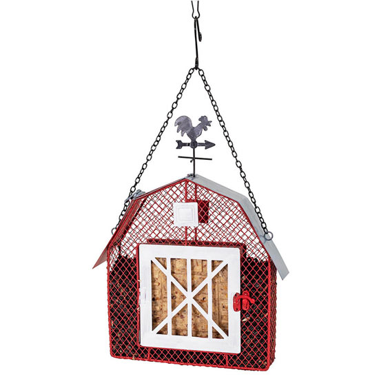 Red Barn Suet & Seed Feeder