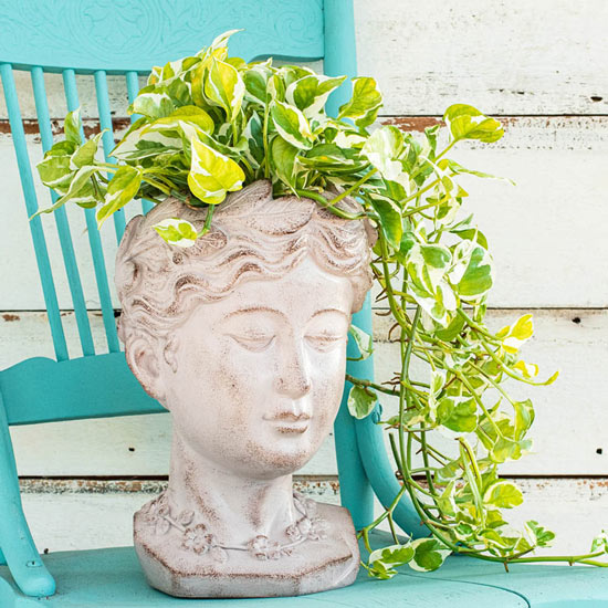 Greek Goddess Planter