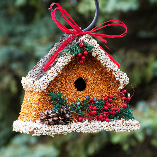 Breck's Birdseed Winter Lodge