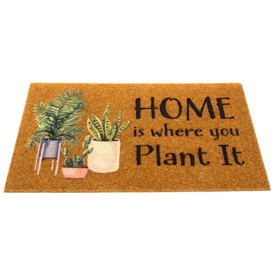 Houseplant Door Mat