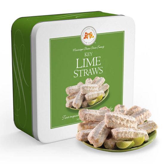 Key Lime Cookie Straws