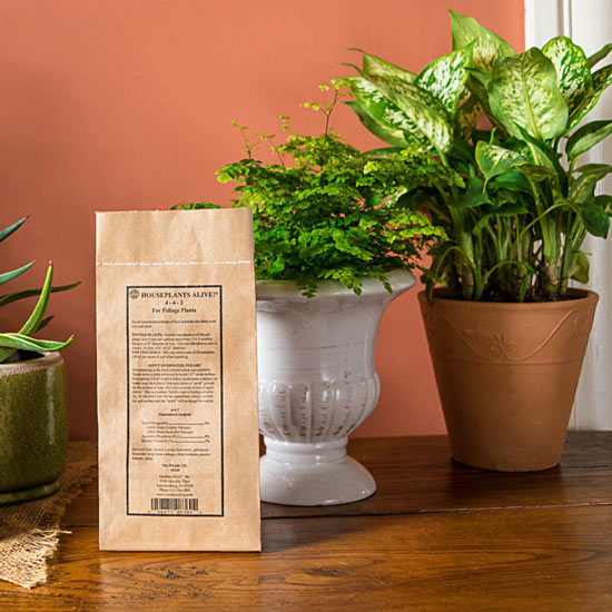 Houseplants Alive!<sup>®</sup> All-Natural Fertilizer 3lb