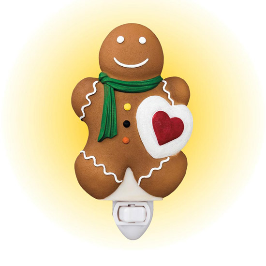 Gingerbread Man Nightlight