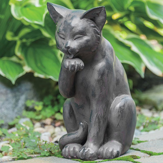 Pretty Paws Cat Statue