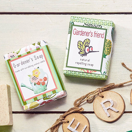 Gardener's Friend Soap Set