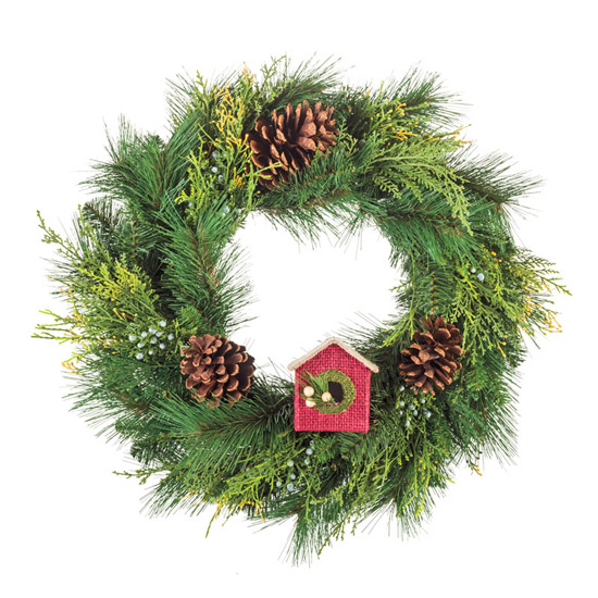 Everlasting Juniper Cedar 24'' Wreath