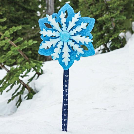 Windspinner Snow Gauge